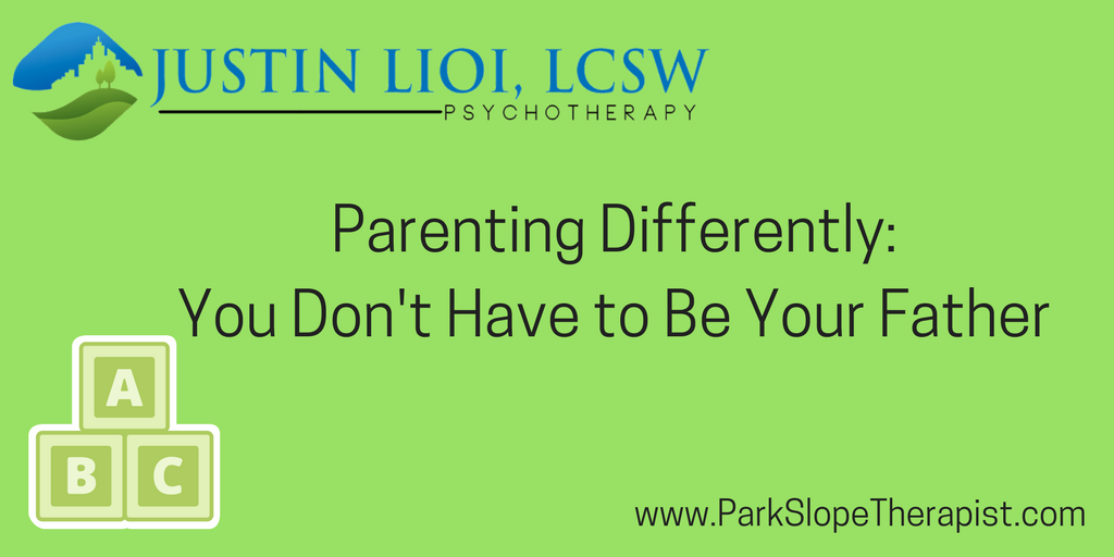 Parenting Differently, Fathers, Fatherhood, Men's Mental Health